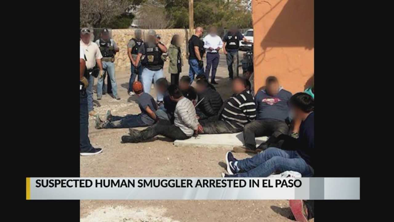 Suspected human smuggler arrested in El Paso