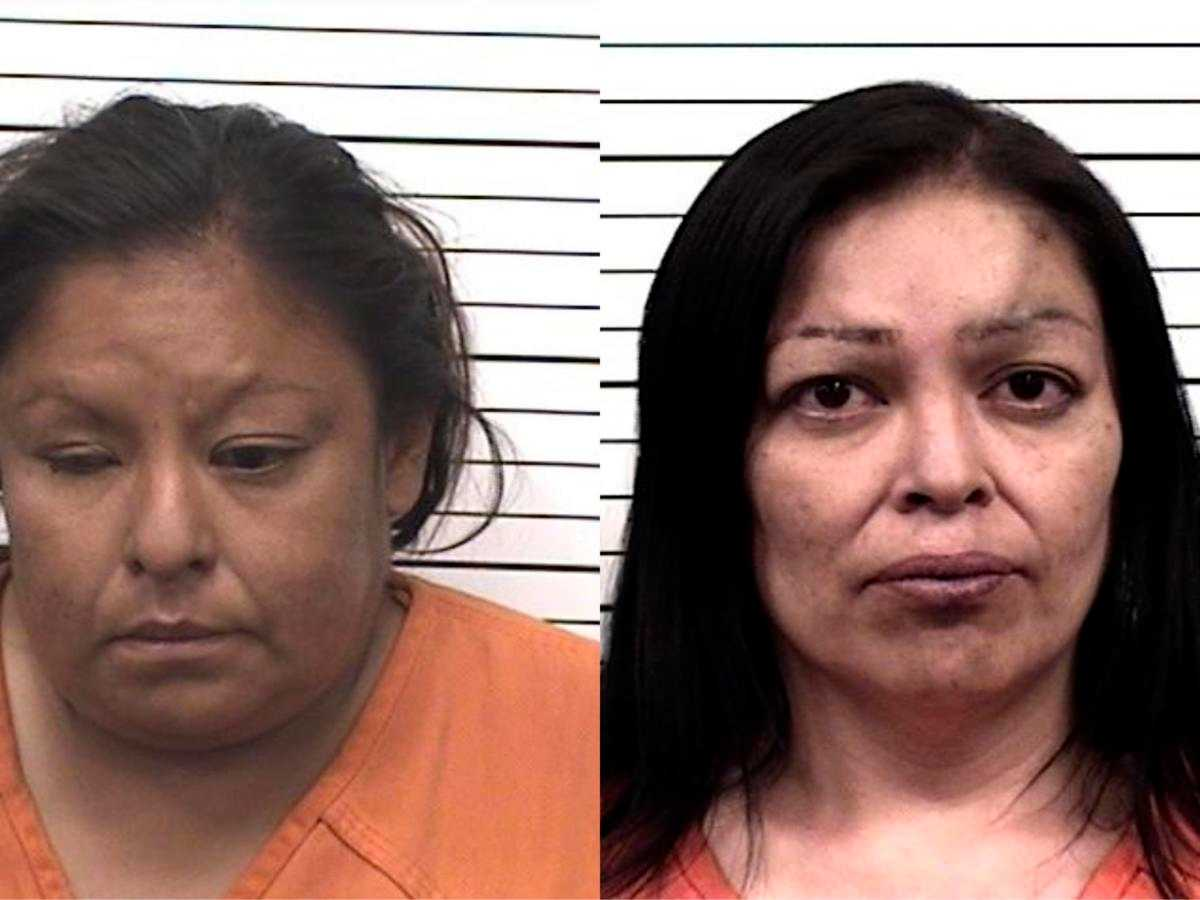Two sisters accused of stabbing father, beating him with crutches