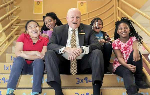 HIGH PROFILE: Michael Poore, Little Rock School District's superintendent, will receive Lifetime of Service Award for his dedication to kids, education