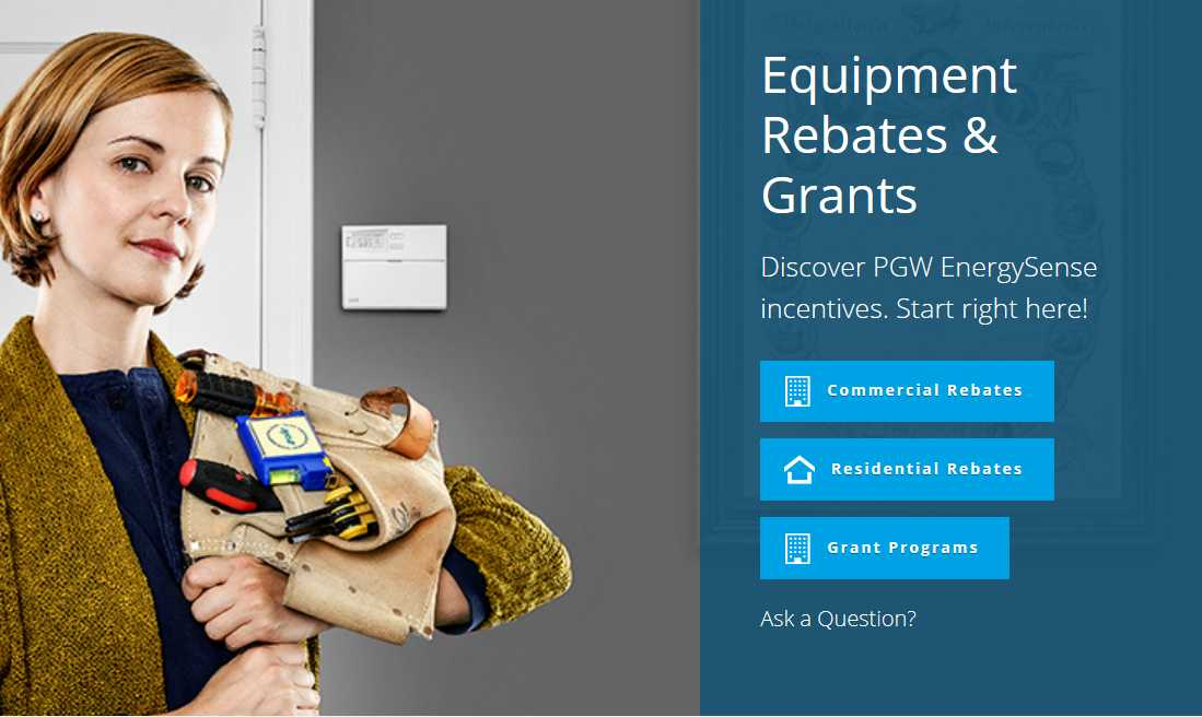 Time is money, so they're making it even easier to apply for PGW rebates.