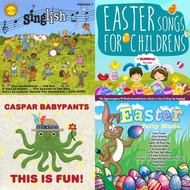 April 16-17: Easter Eggs, Bunnies & Sweets, a playlist by Anna Elva on Spotify