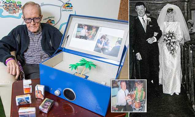 Dementia man able to reconnect with his wife using 'Music Memory Box'