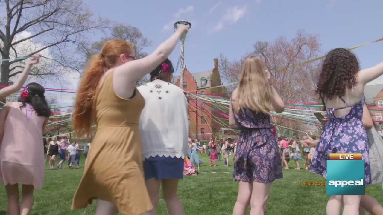 Mass Appeal celebrates Spring live from Mount Holyoke College's Pangy Day celebrations!