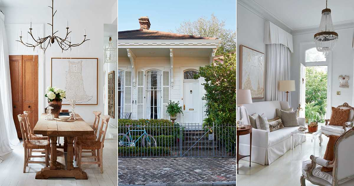 Shining a Light on an Artistic New Orleans Cottage