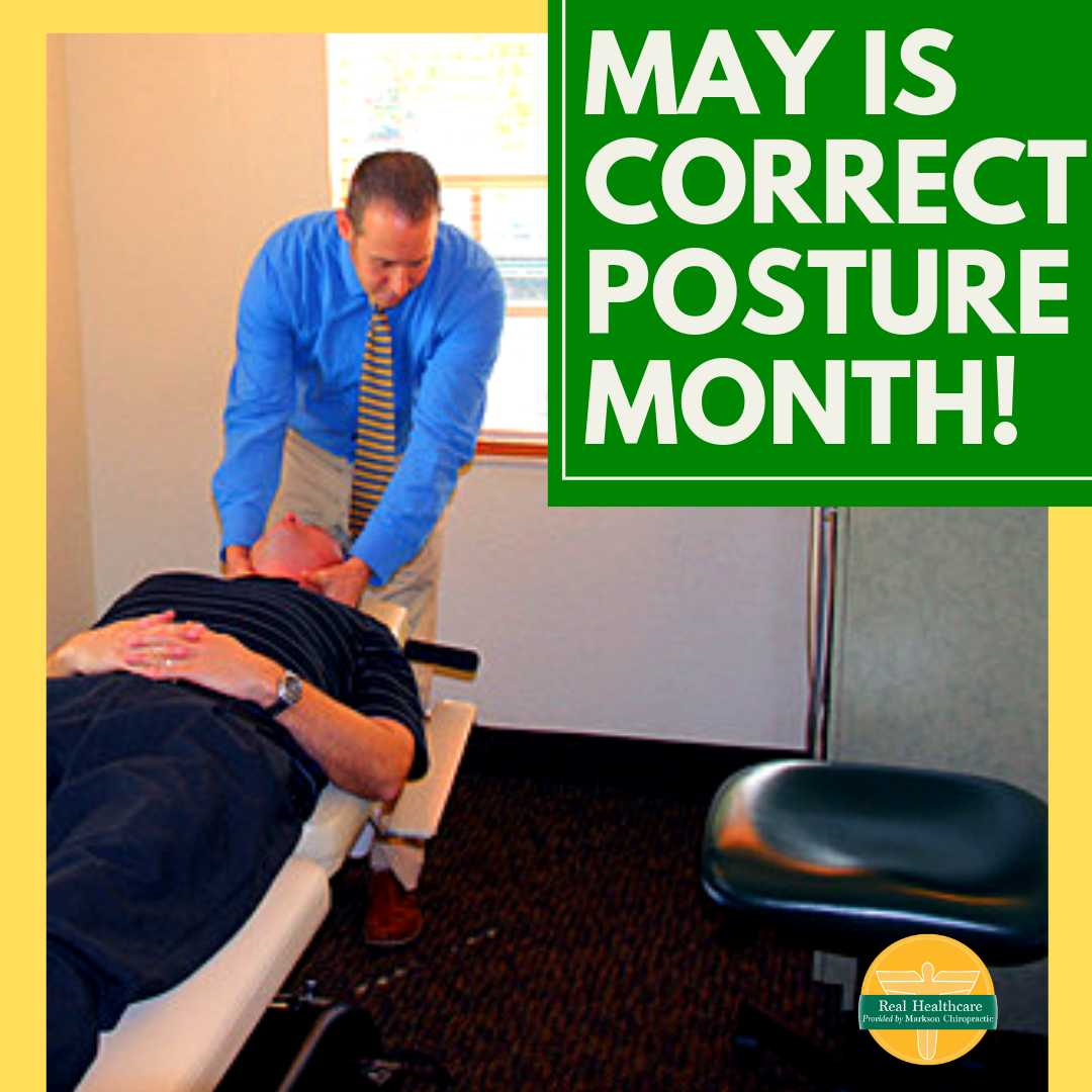 May is Correct Posture Month!