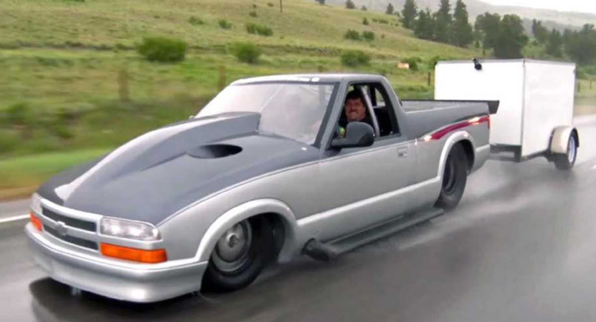 Would You Dare Take This 3,000 HP Chevrolet S10 Out On The Streets?
