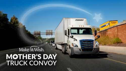 Penske Helps Mother's Day Truck Convoy Celebrate 30th Anniversary