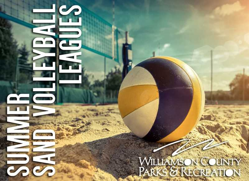 Sand Volleyball Registration Open