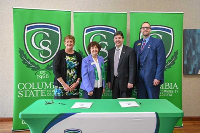 Columbia State & University of North Alabama Announce Partnership