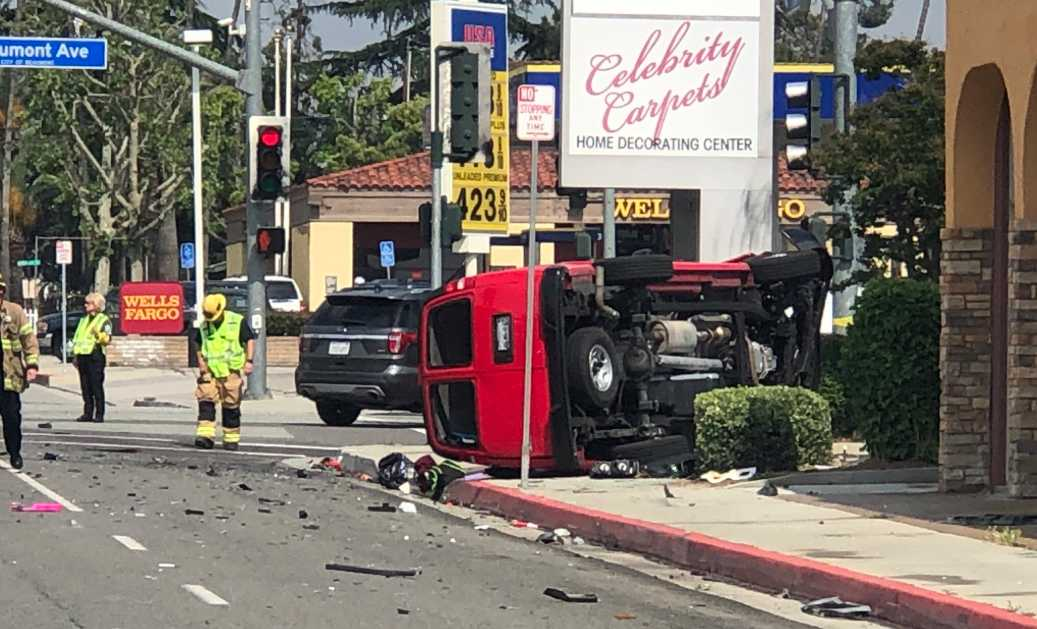 5 People Injured, 2 Critically, After Van Overturns in Suspected DUI Traffic Collision in Beaumont