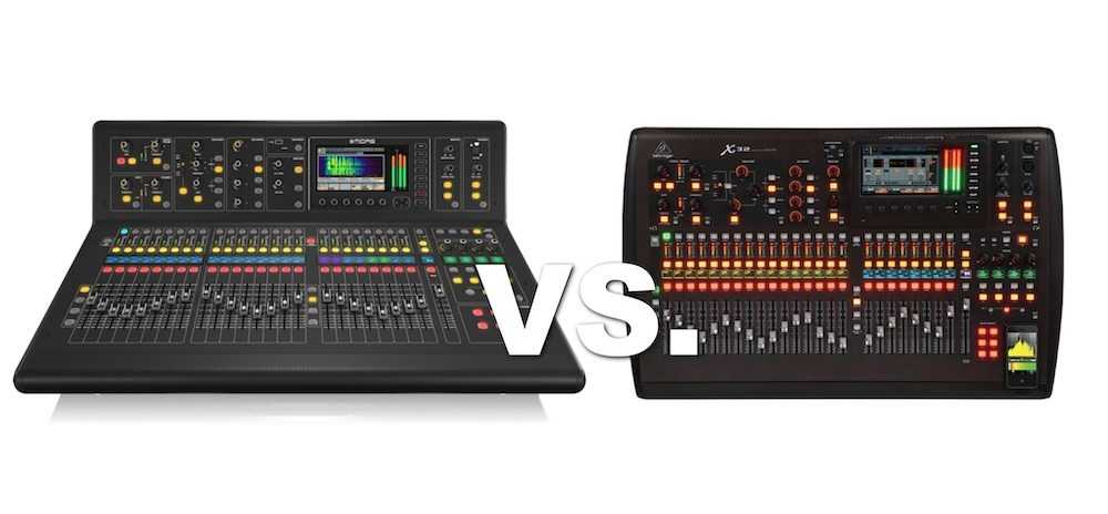 M32 Vs X32! Which Digital Console Is Better?