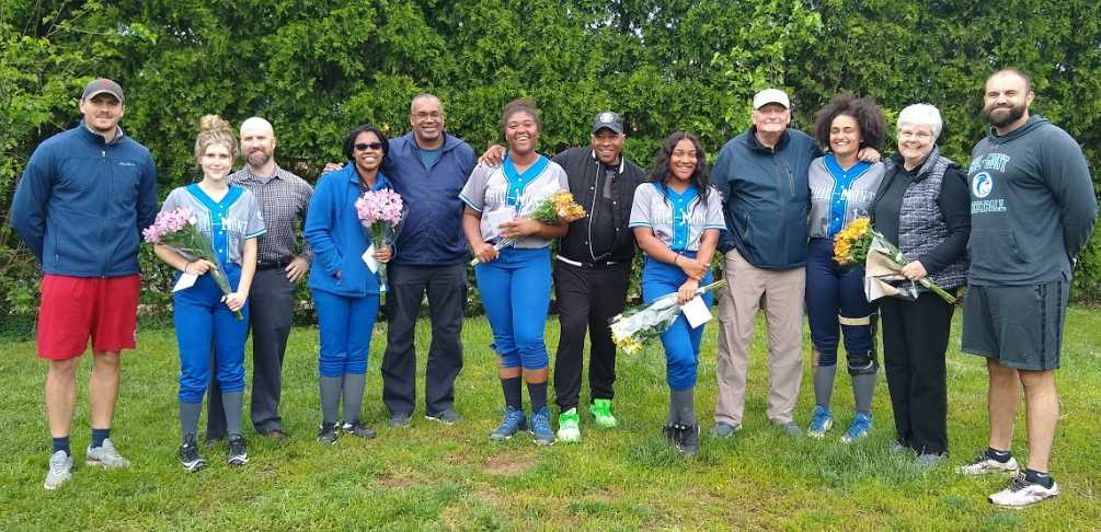 Varsity Softball: Honoring the Seniors