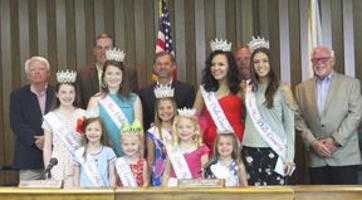 Dale commissioners have royal visitors