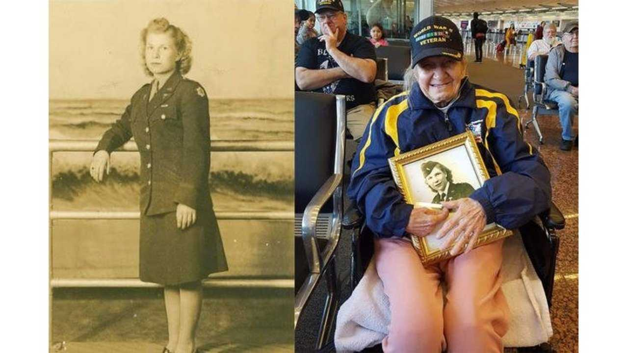 This WWII vet is turning 100. She'd like a birthday card from you.