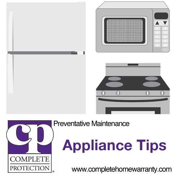 Appliance Maintenance Tips and Tricks to Make Life Easier