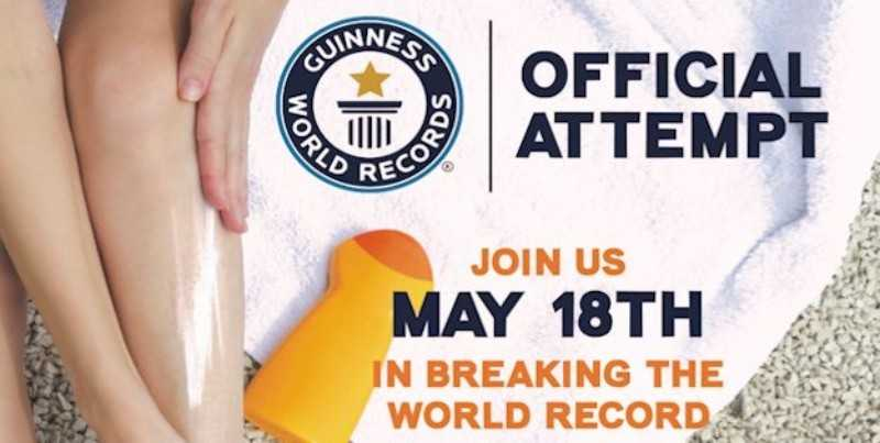 Join Dillard's in Their Attempt to Break a Guinness World Record