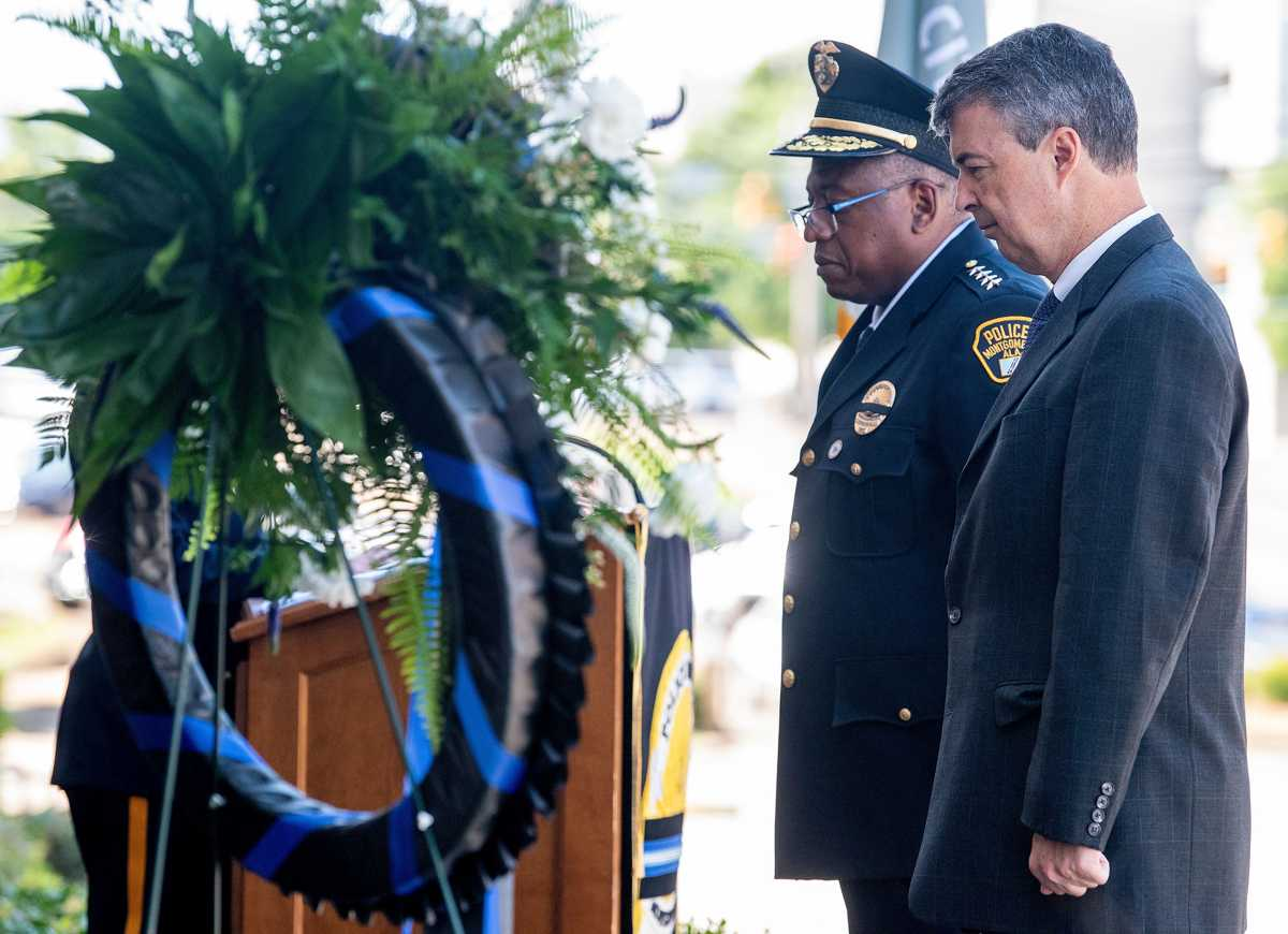 Montgomery Police Department holds Police Memorial Day Service