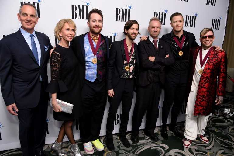 Sting, Imagine Dragons and Martin Bandier Honored at BMI's 67th Annual Pop Awards