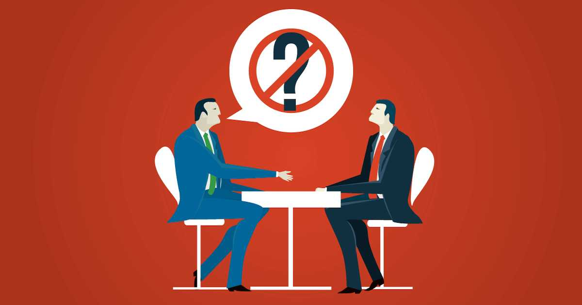 Worst interview questions ever: 10 to avoid at all costs