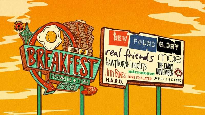 5 Tips From New Found Glory on Attending BreakFEST