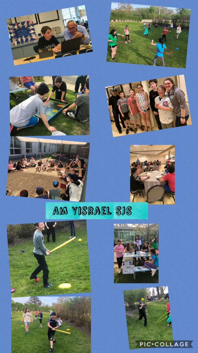 Am Yisrael SJS Limmud/Education Update 5-16-19