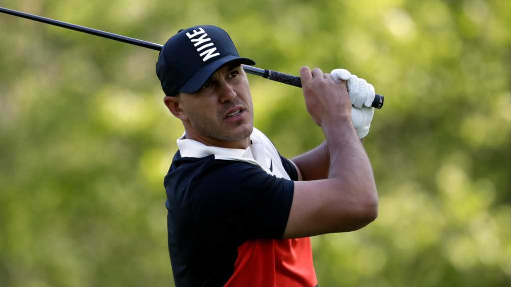 Brooks Koepka soars into PGA Championship lead with course-record 63