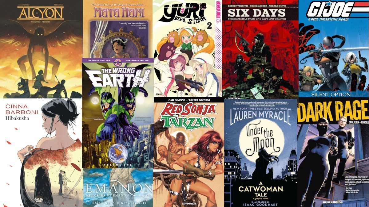 Graphic Novel Weekly 5/16/19: More Reviews! More Fun!