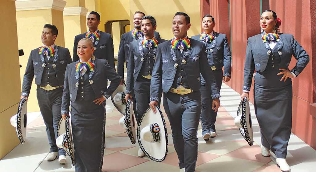 Mariachi Arcoiris, billed as the world's first LGBTQ Mariachi band, to appear at Long Beach Pride