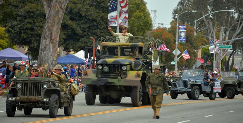Torrance snaps to attention Saturday, May 18, for annual Armed Forces Day Parade