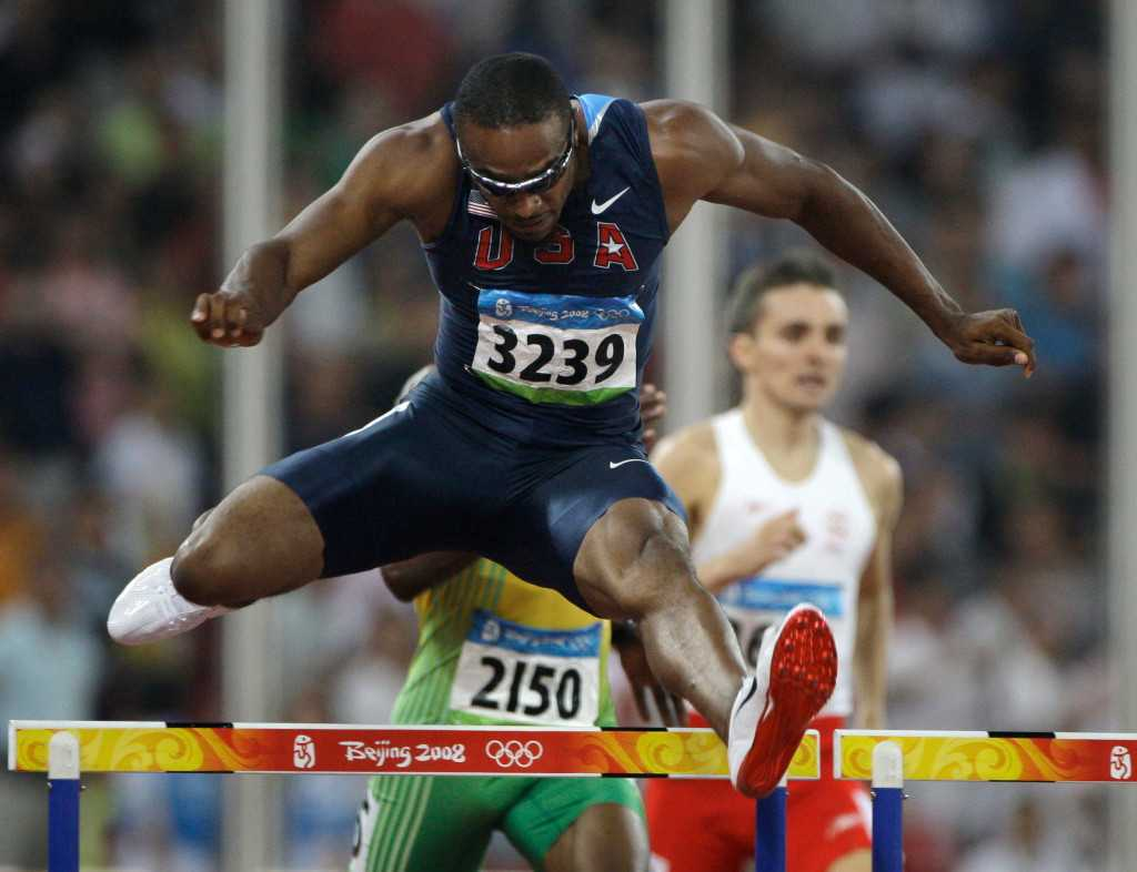 USATF suspends two-time Olympic champion Angelo Taylor