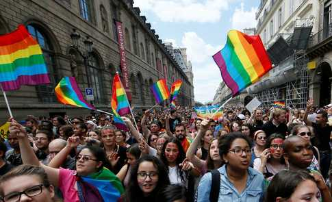 Assaults on LGBT+ community hit a record high in France last year