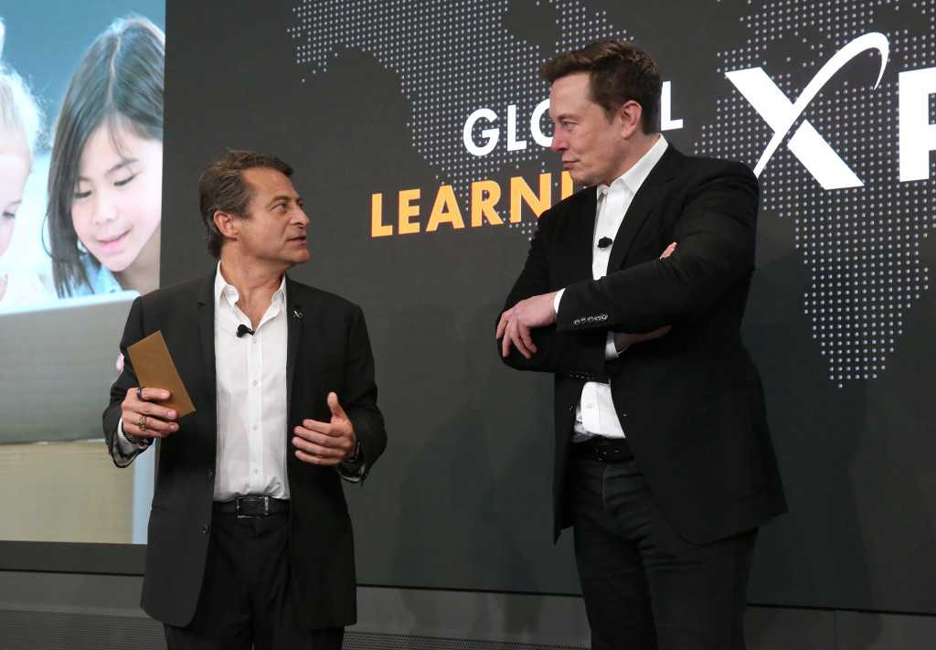 Elon Musk announces Global Learning XPRIZE dual winners