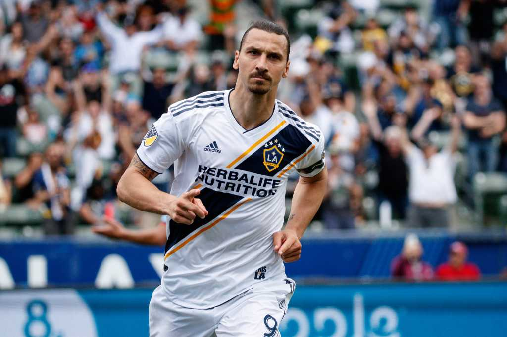 Galaxy's Zlatan Ibrahimovic handed two-game suspension
