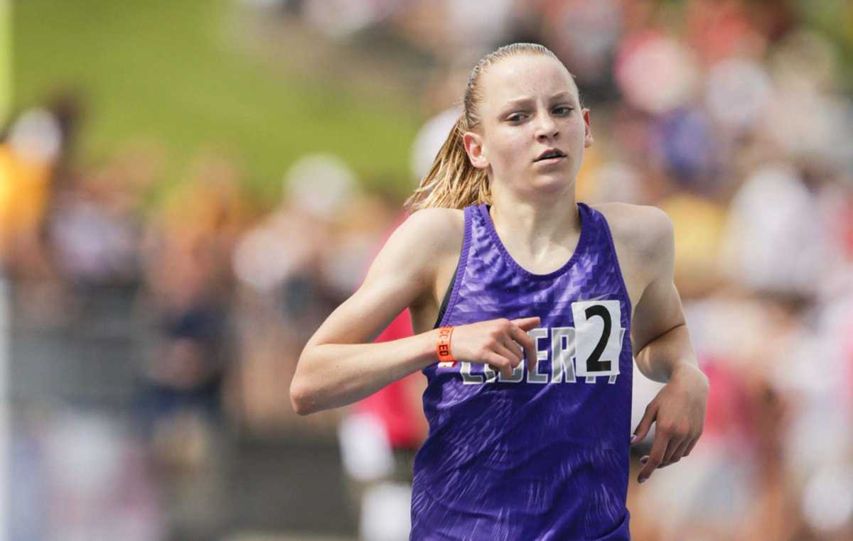 Iowa 4A girls' state track and field: Ashlyn Keeney gives Liberty its first state championship