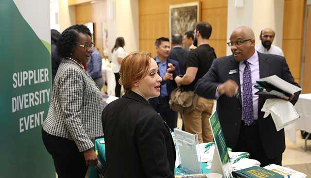 Minority-Owned Businesses Front and Center at Supplier Diversity Fair