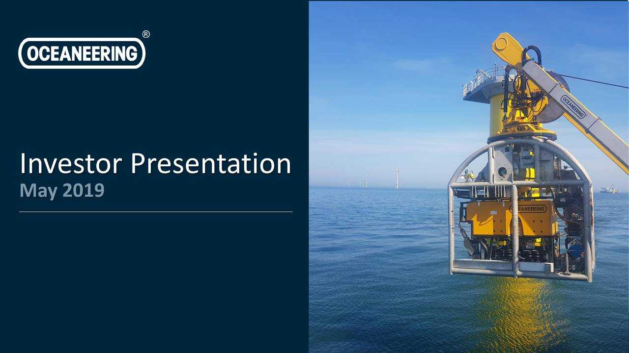 Oceaneering International (OII) Investor Presentation