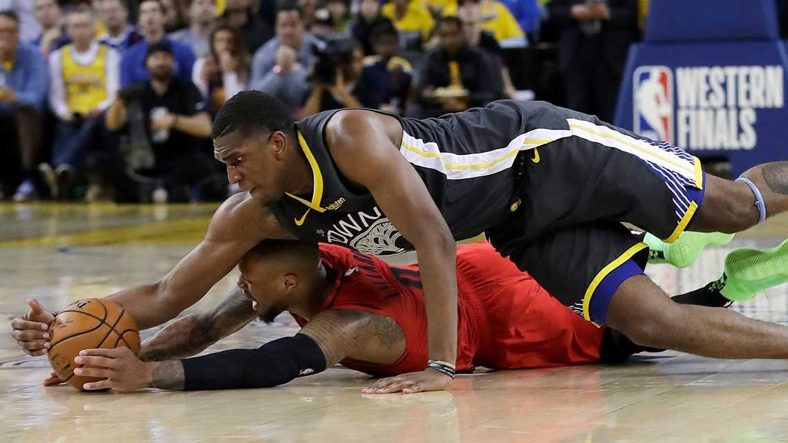 Reporter notebook: Warriors edge Blazers, 114-111, in heartbreaking Game 2 loss
