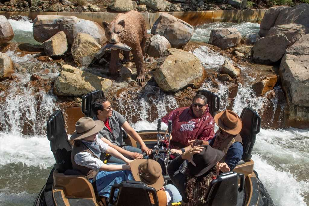 Review: Calico River Rapids blends storytelling with thrills to bring new life to aging Knott's water ride