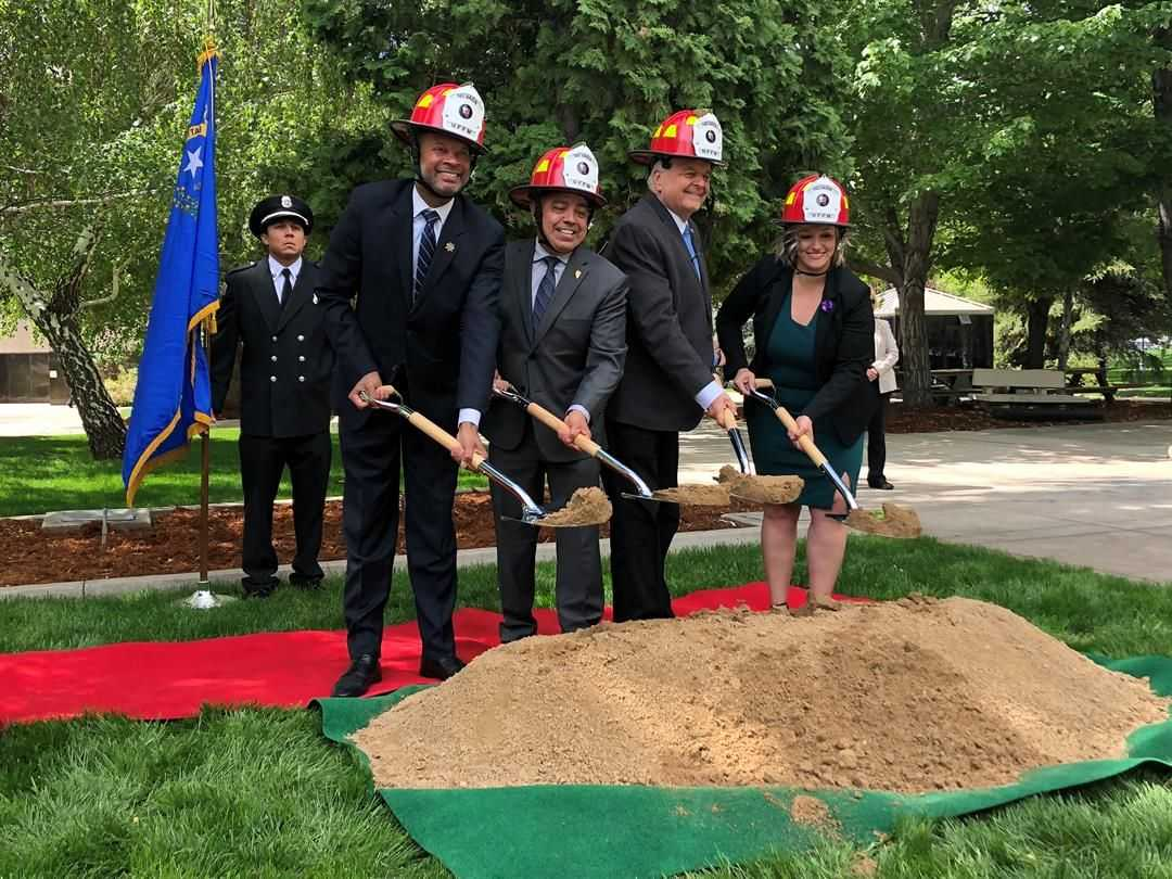 State Leaders Hold Groundbreaking Ceremony for Fallen Firefighters Memorial