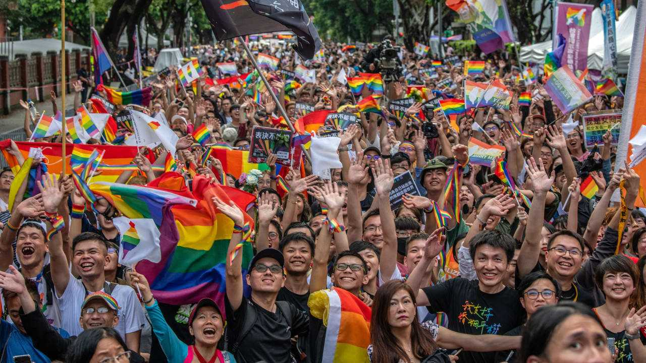 Taiwan just legalized same-sex marriage, a historic first for Asia