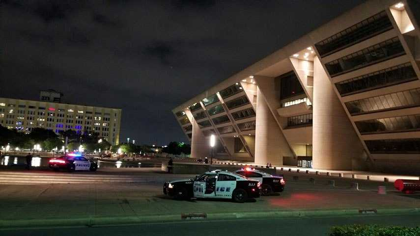 Body Found In Fountain In Front Of Dallas City Hall