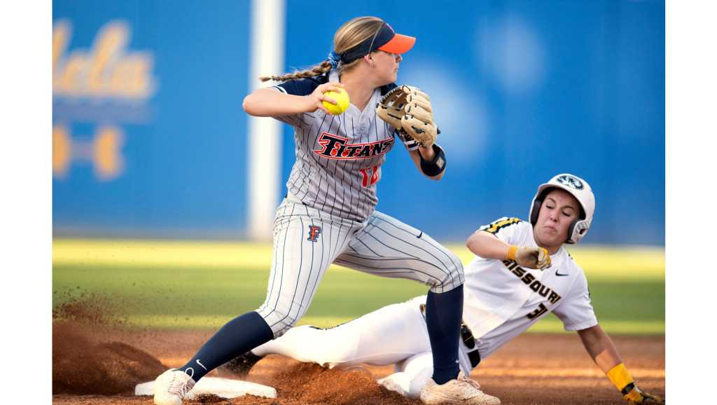 Cal State Fullerton falls to Missouri in first round of NCAA softball regional