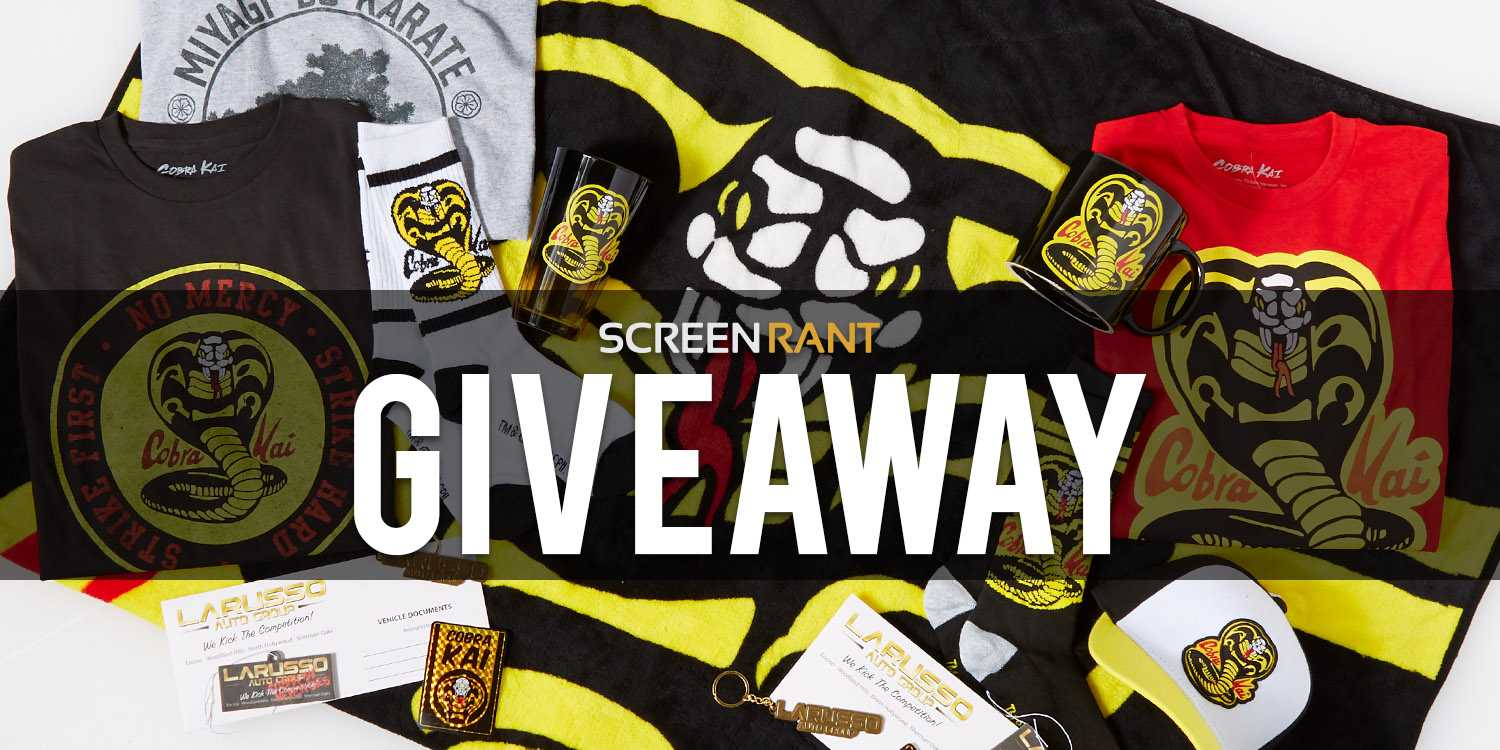 GIVEAWAY: Win A Cobra Kai Prize Bundle from Spencer's!