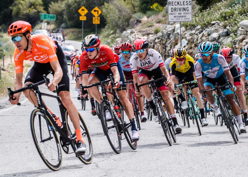 Tadej Pogacar wins Stage 6 of Tour of California to take overall lead
