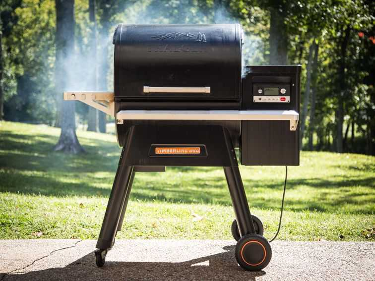 Traeger's wood pellet grill is so good it hurts