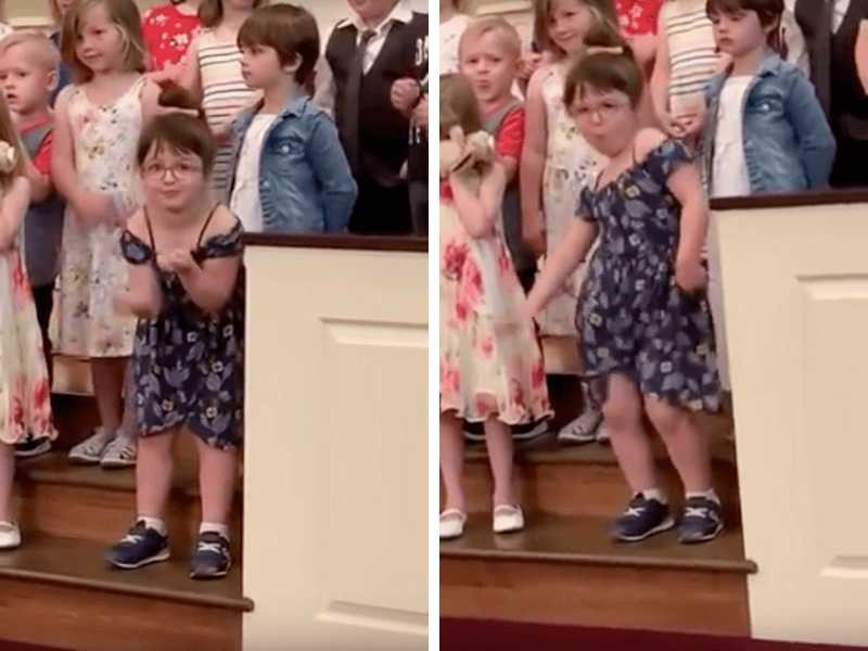 Watch: Funny Dancer Steals the Show at Her Own Graduation