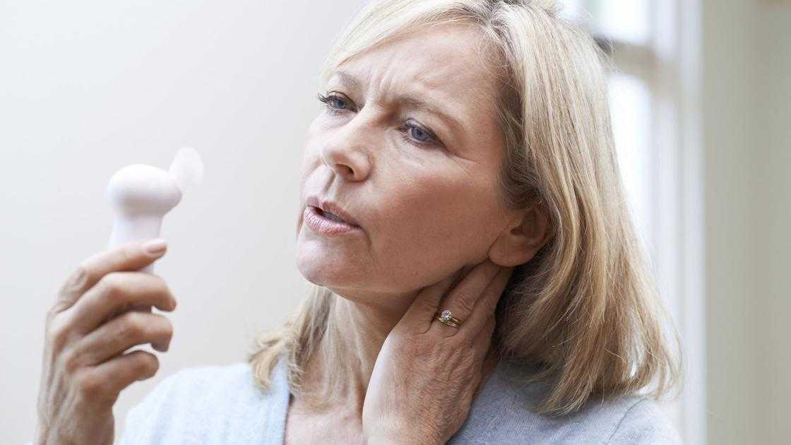 What would it take to cure your hot flashes? One shot in the neck might do the trick