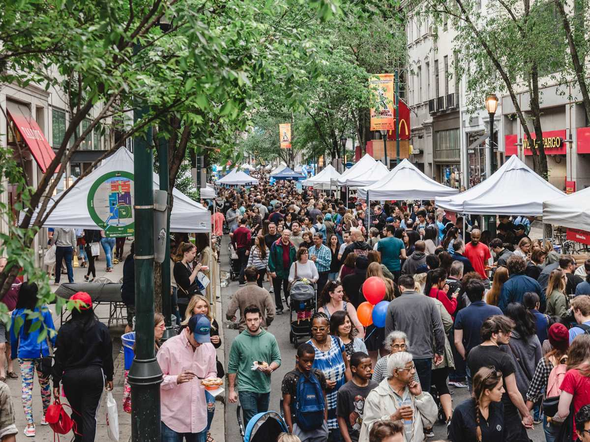 Yes! The Rittenhouse Row Spring Festival is Back