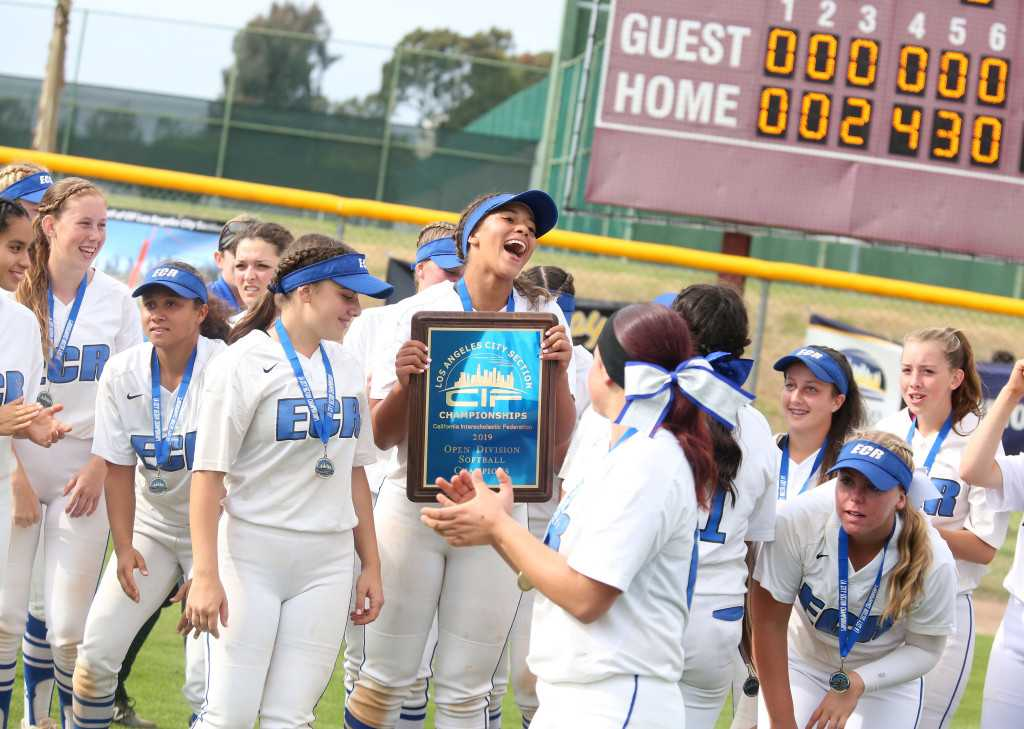 Jordyn Vanhook's three home runs power El Camino Real softball to 16th City title