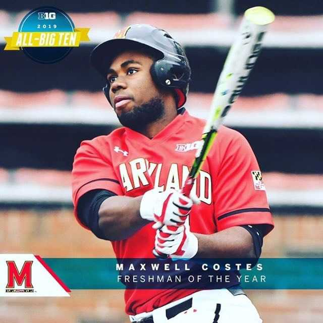 Maxwell Costes '18 Named Big Ten Freshman of the Year